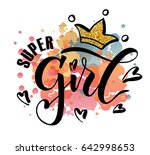 vector illustration of super... | Shutterstock .eps vector #642998653