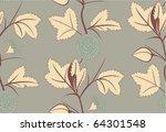 floral pattern. seamless | Shutterstock .eps vector #64301548