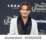 johnny depp at the u.s.... | Shutterstock . vector #643026028