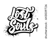 lost souls. hand drawn...   Shutterstock .eps vector #643039726