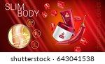 body skin care series ads....   Shutterstock .eps vector #643041538