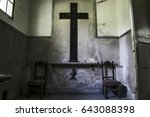 A View Of A Little Chapel In A...