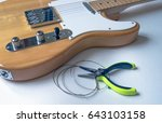 Guitar Maintenance. Old Guitar...