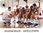 Coach Explaining Game Plan To...