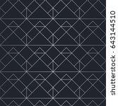 silver texture. seamless... | Shutterstock .eps vector #643144510