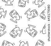 object circus of doodle style | Shutterstock .eps vector #643175080
