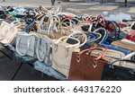 fake bags | Shutterstock . vector #643176220