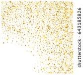 cosmic abstract vector... | Shutterstock .eps vector #643185826