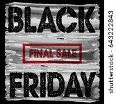 black friday | Shutterstock . vector #643222843