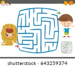cartoon vector illustration of... | Shutterstock .eps vector #643259374