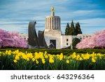 salem oregon usa march 23  2016 ... | Shutterstock . vector #643296364