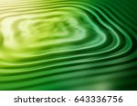 colorful ripple background | Shutterstock . vector #643336756