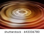 colorful ripple background | Shutterstock . vector #643336780
