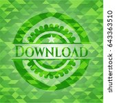 download green emblem with...