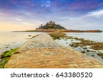 sunrise at st michael's mount ... | Shutterstock . vector #643380520