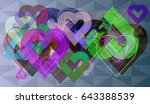love texture icon | Shutterstock .eps vector #643388539