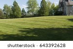 lawn stripes and strips in... | Shutterstock . vector #643392628