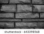 wall bricks  | Shutterstock . vector #643398568