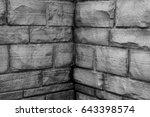 wall bricks  | Shutterstock . vector #643398574