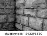 wall bricks  | Shutterstock . vector #643398580