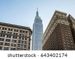 new york  usa   january 15 ... | Shutterstock . vector #643402174