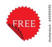 free label logo vector template   Shutterstock .eps vector #643405450