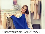 shopping  fashion  style and... | Shutterstock . vector #643429270