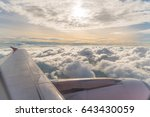 Aircraft Wing And Sky