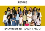 various of diversity women... | Shutterstock . vector #643447570
