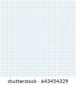 paper grid. paper squared... | Shutterstock .eps vector #643454329