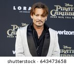 Johnny Depp At The U.s....