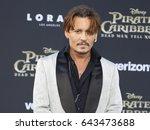 johnny depp at the u.s.... | Shutterstock . vector #643473688