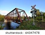 rail length across the river ... | Shutterstock . vector #64347478