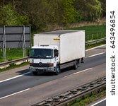 dusseldorf  germany   april 20  ... | Shutterstock . vector #643496854