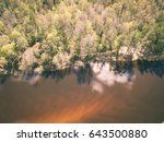 drone image. aerial view of... | Shutterstock . vector #643500880