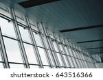 window wall background | Shutterstock . vector #643516366