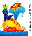 funny animals   Shutterstock . vector #64352230