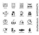 business employment  business... | Shutterstock .eps vector #643534474