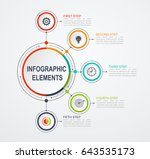 presentation business... | Shutterstock .eps vector #643535173