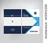 cover design for catalogue ... | Shutterstock .eps vector #643541200