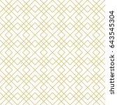 art deco seamless background. | Shutterstock .eps vector #643545304