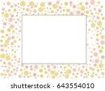 abstract background for... | Shutterstock .eps vector #643554010