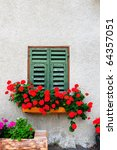 Typical Italian Window With...