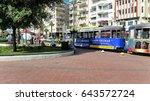 antalya  turkey   october 17 ... | Shutterstock . vector #643572724