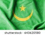 mauritania cotton flag   Shutterstock . vector #643620580