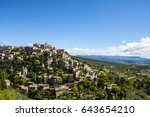 View On Gordes  A Small Typica...