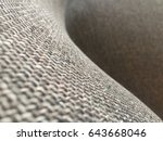 fabric of furniture | Shutterstock . vector #643668046