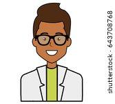 male doctor avatar character | Shutterstock .eps vector #643708768