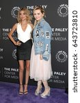 """Small photo of LOS ANGELES - MAY 18: Sarah Hyland, Abigail Breslin at the """"Dirty Dancing: The New ABC Musical Event"""" Premiere Screening at the Paley Center for Media on May 18, 2017 in Beverly Hills, CA"""