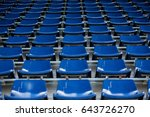 background of empty seats in a...   Shutterstock . vector #643726270